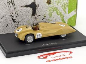 Moskvich G2 #16 anno di costruzione 1959 beige 1:43 AutoCult