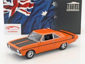 Chrysler Valiant VG year 1970 orange / black 1:18 Greenlight