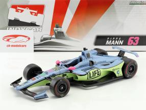 Pippa Mann Honda #63 IndyCar Series 2018 Dale Coyne Racing 1:18 Greenlight