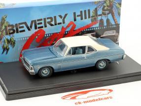 Chevrolet Nova Baujahr 1970 Film Beverly Hills Cop (1984) blau metallic / weiß 1:43 GMP