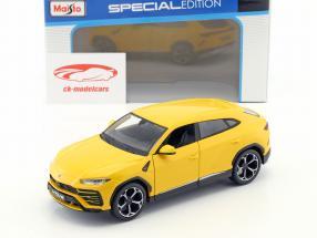 Lamborghini Urus amarillo 1:24 Maisto