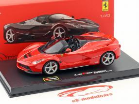 Ferrari LaFerrari Aperta rojo 1:43 Bburago Signature