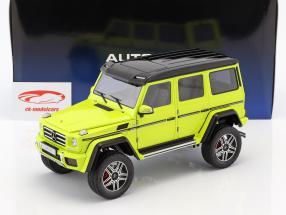 Mercedes-Benz G-Klasse G500 4x4² Opførselsår 2016 gul 1:18 AUTOart