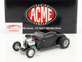 Blown Altered Coupe Outlaw year 1934 black 1:18 GMP