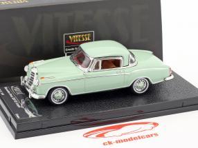 Mercedes-Benz 220 SE coupe año de construcción 1958 brillante verde 1:43 Vitesse