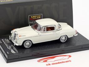 Mercedes-Benz 220 SE coupe year 1958 ivory 1:43 Vitesse