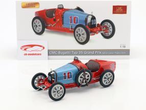 Bugatti Type 35 Grand Prix #10 Nation Colour Project Chile 1:18 CMC