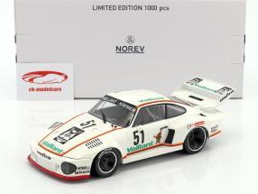 Porsche 935 #51 segundo Bergischer Löwe Zolder DRM 1977 Bob Wollek 1:18 Norev