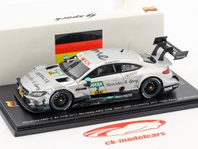 Mercedes-Benz AMG C 63 #2 150e Mercedes course Lausitzring DTM 2017 Gary Paffett 1:43 Spark
