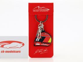 Michael Schumacher Porte-clefs casque 2000 rouge