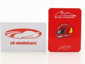 Michael Schumacher Pin casco 2000 rosso