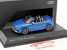Audi TT RS Roadster ara blau 1:43 iScale