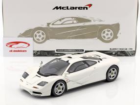 McLaren F1 Road Car year 1993/94 white 1:18 Minichamps