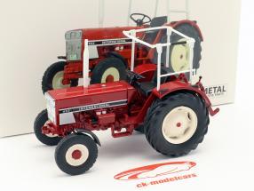International 433 Traktor mit Bügel rot 1:32 Schuco