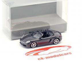 Porsche 718 Boxster anno di costruzione 2016 grigio metallico 1:87 Minichamps