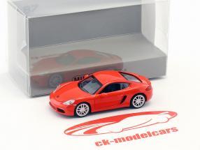 Porsche 718 Cayman année de construction 2016 orange 1:87 Minichamps