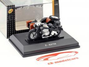 Zündapp Z-KS750 zwart 1:43 Cararama