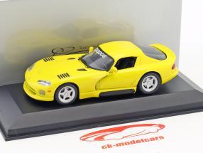 Dodge Viper Coupe jaune 1:43 Minichamps