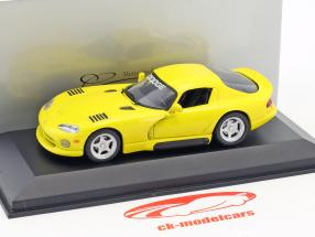 Dodge Viper Coupe yellow 1:43 Minichamps