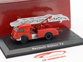 Renault Galion T2 vigili del fuoco Colmar rosso 1:72 Atlas