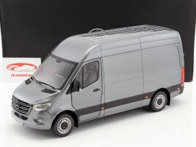 Mercedes-Benz sprinter van année de construction 2018 selenitgrau métallique 1:18 Norev