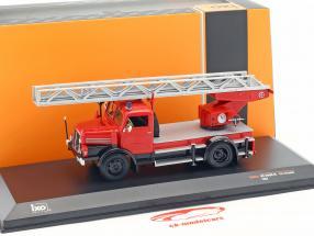 IFA S4000 DL Feuerwehr mit Drehleiter rot 1:43 Ixo