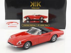 Ferrari 365 California Spyder Baujahr 1966 rot 1:18 KK-Scale