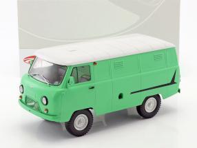 UAZ 452 (3741) van bright green / white 1:18 Premium ClassiXXs
