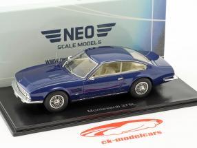 Monteverdi 375 L Baujahr 1969 blau metallic 1:43 Neo