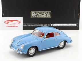 Porsche 356 A 1500 GS Carrera GT year 1957 blue 1:18 Sun Star