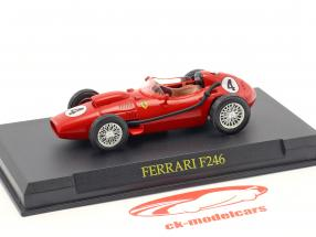 Mike Hawthorne Ferrari F246 #4 World Champion formula 1 1958 1:43 Altaya