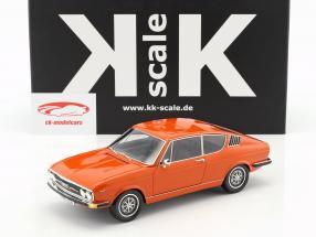 Audi 100 Coupe S year 1970 Orange 1:18 KK-Scale