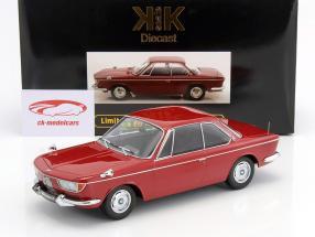 BMW 2000 CS coupe año de construcción 1965 púrpura 1:18 KK-Scale