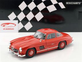 Mercedes-Benz 300 SL (W198) Gullwing Baujahr 1955 rot 1:18 Minichamps