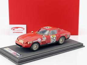 Ferrari 275 GTB/4 #151 Tour de France 1970 Dirty Version With Showcase 1:18 BBR