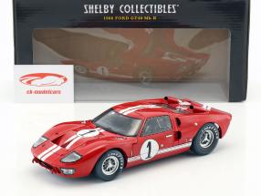 Ford GT-40 MK II #1 Winner 12h Sebring 1966 Miles, Ruby 1:18 ShelbyCollectibles
