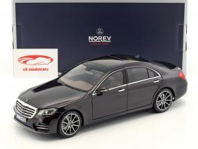 Mercedes-Benz S-Class AMG-Line  year 2018 ruby black metallic 1:18 Norev