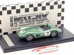 Aston Martin DBR1 #7 gagnant RAC Tourist Trophy 1958 Moss, Brooks 1:43 Matrix
