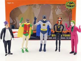Batman curvabile figure set Classic TV Serie Batman (1966) 5,5 inch NJCroce