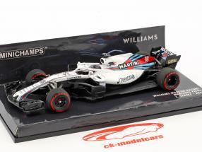 Lance Stroll Williams FW41 #18 formula 1 2018 1:43 Minichamps