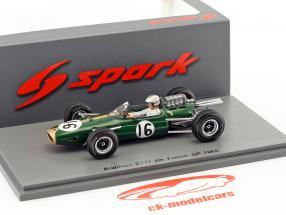 Denis Hulme Brabham BT11 #16 4th Frankreich GP Formel 1 1965 1:43 Spark