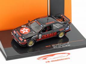 Ford Sierra RS Cosworth #6 Class Winner Div.3 500km Dijon WTCC 1987 Soper, Niedzwiedz 1:43 Ixo