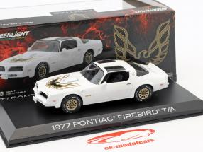 Pontiac Firebird Trans Am year 1977 cameo white 1:43 Greenlight