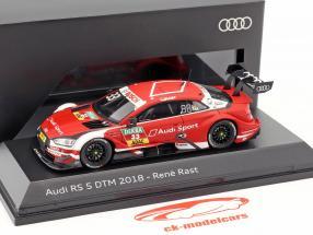 Audi RS 5 #33 DTM 2018 Rene Rast 1:43 Spark