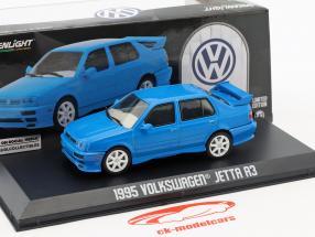 Volkswagen VW Jetta A3 année de construction 1995 bleu 1:43 Greenlight