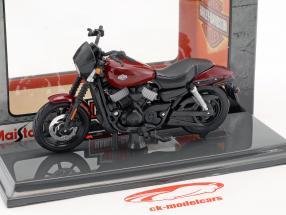 Harley-Davidson HD 15 Street 750 anno di costruzione 2015 nero / rosso 1:18 Maisto