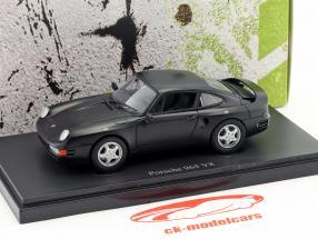 Porsche 965 V8 Prototyp Baujahr 1988 schwarz 1:43 AutoCult