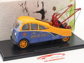 Barnes Streamlined Wrecker Baujahr 1938 orange / blau 1:43 AutoCult