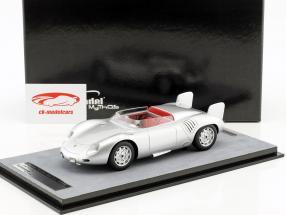 Porsche 718 RSK stampa versione 1958 argento 1:18 Tecnomodel