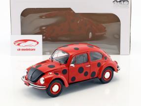 Volkswagen VW Käfer 1303 mariehøne rød / sort 1:18 Solido